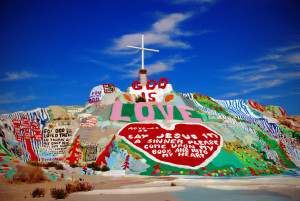Salvation Mountain | Photo by Heather Quinn