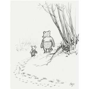 Pooh, Piglet and Paul have wisdom on goodbyes.