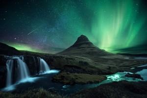 The Aurora Borealis, Iceland